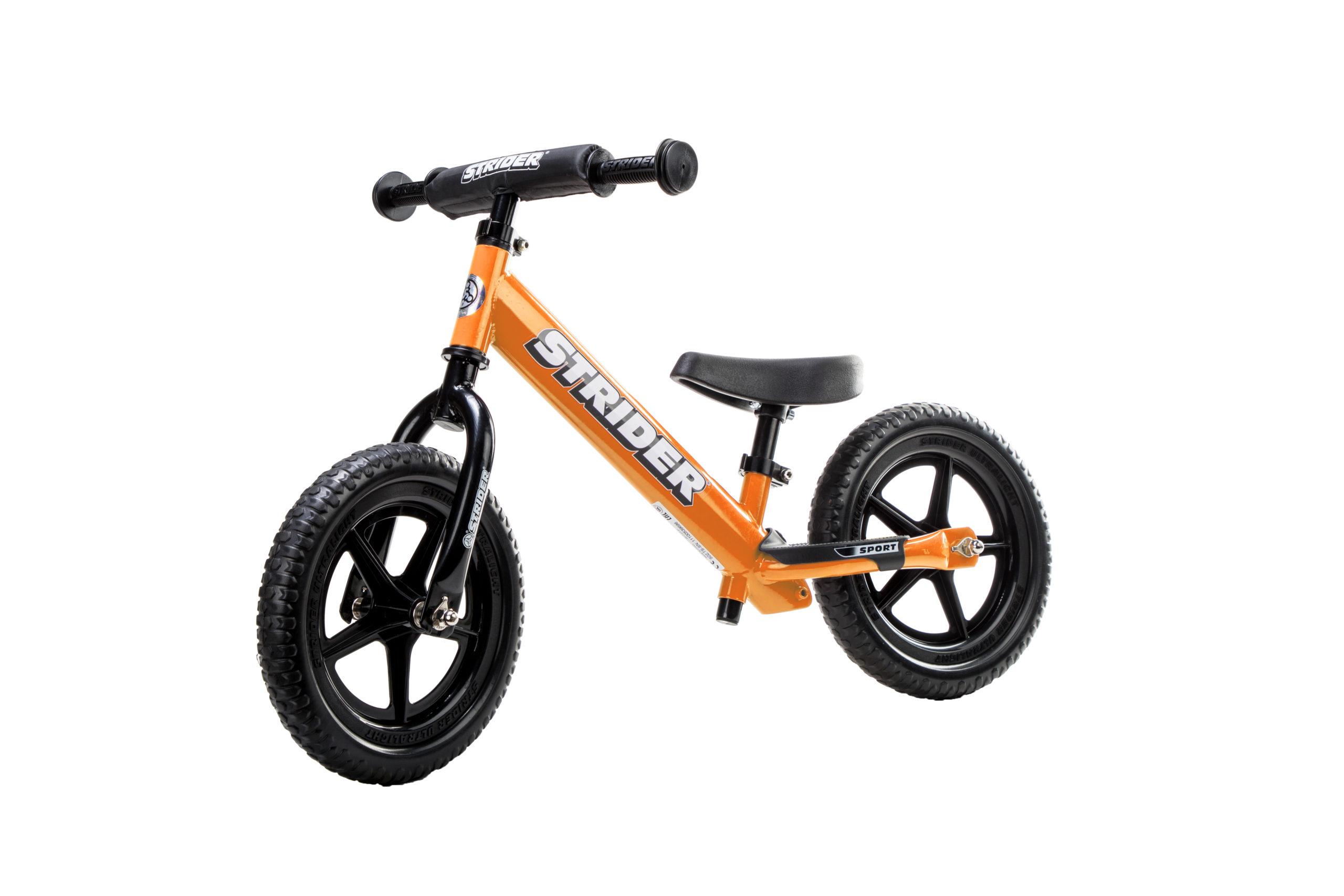 Studio image of Orange 12 Sport bike - angled view