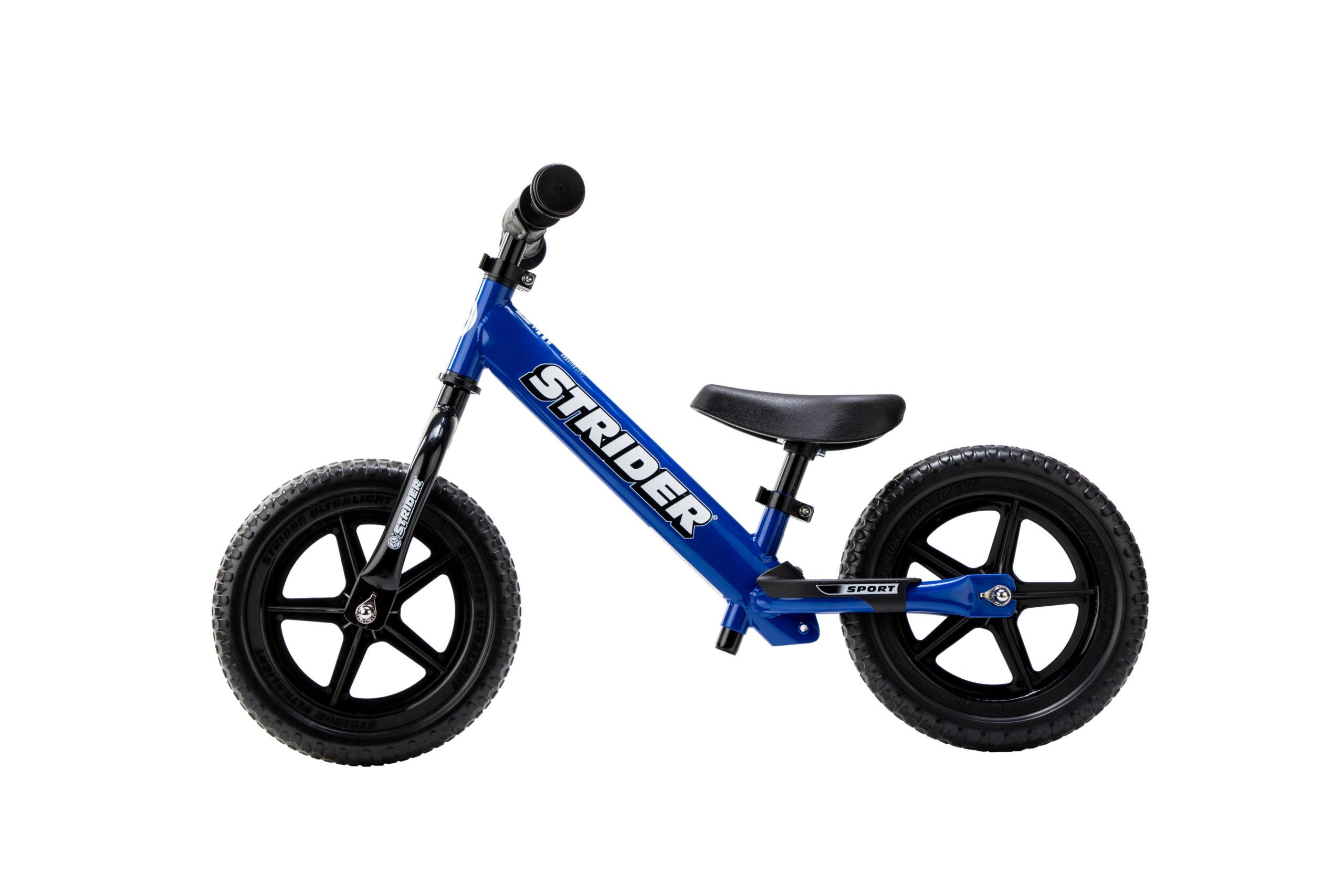 Studio image of Blue 12 Sport bike - side profile