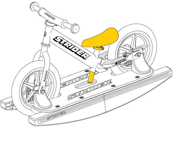 illustration Strider 12 Sport Baby Bundle seat