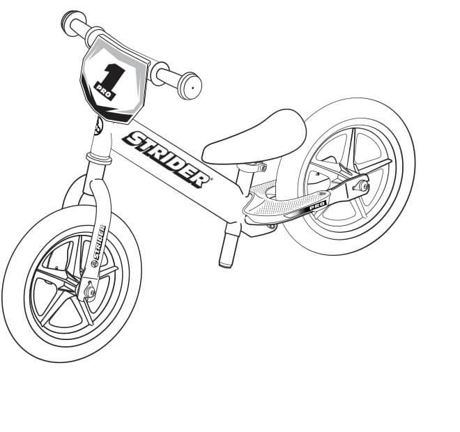 illustration Strider 12 Pro full specs