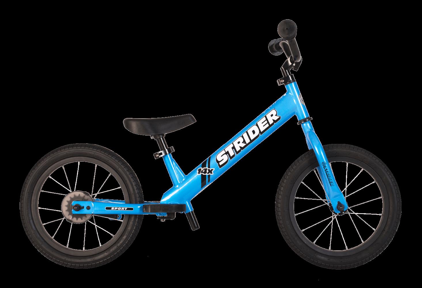 Strider 14x Balance Bike - Blue
