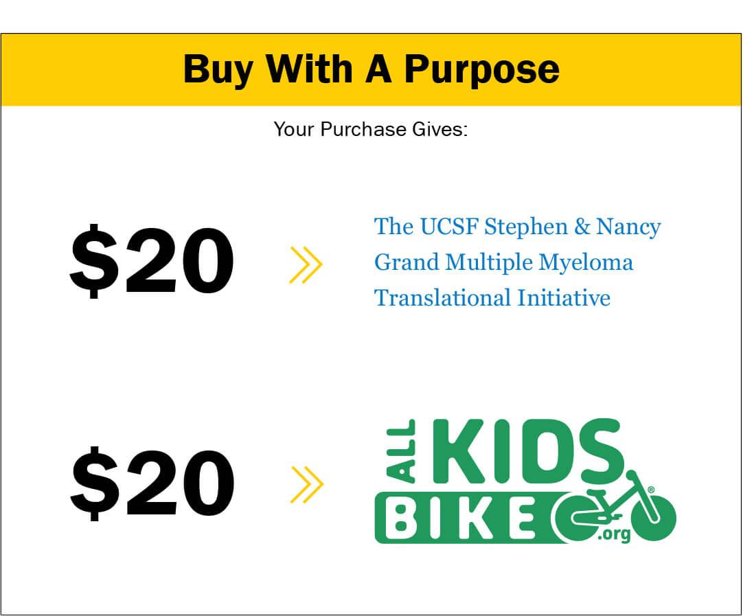 Strider Arlen Ness Balance Bike for charity