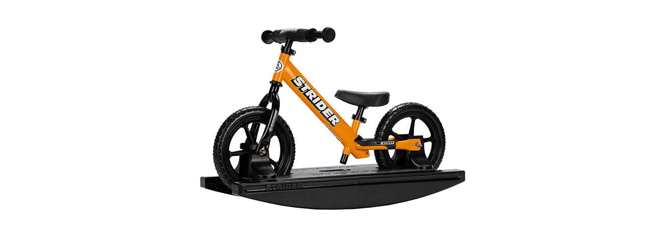 2-in-1 Rocking Bike Orange Studio Image