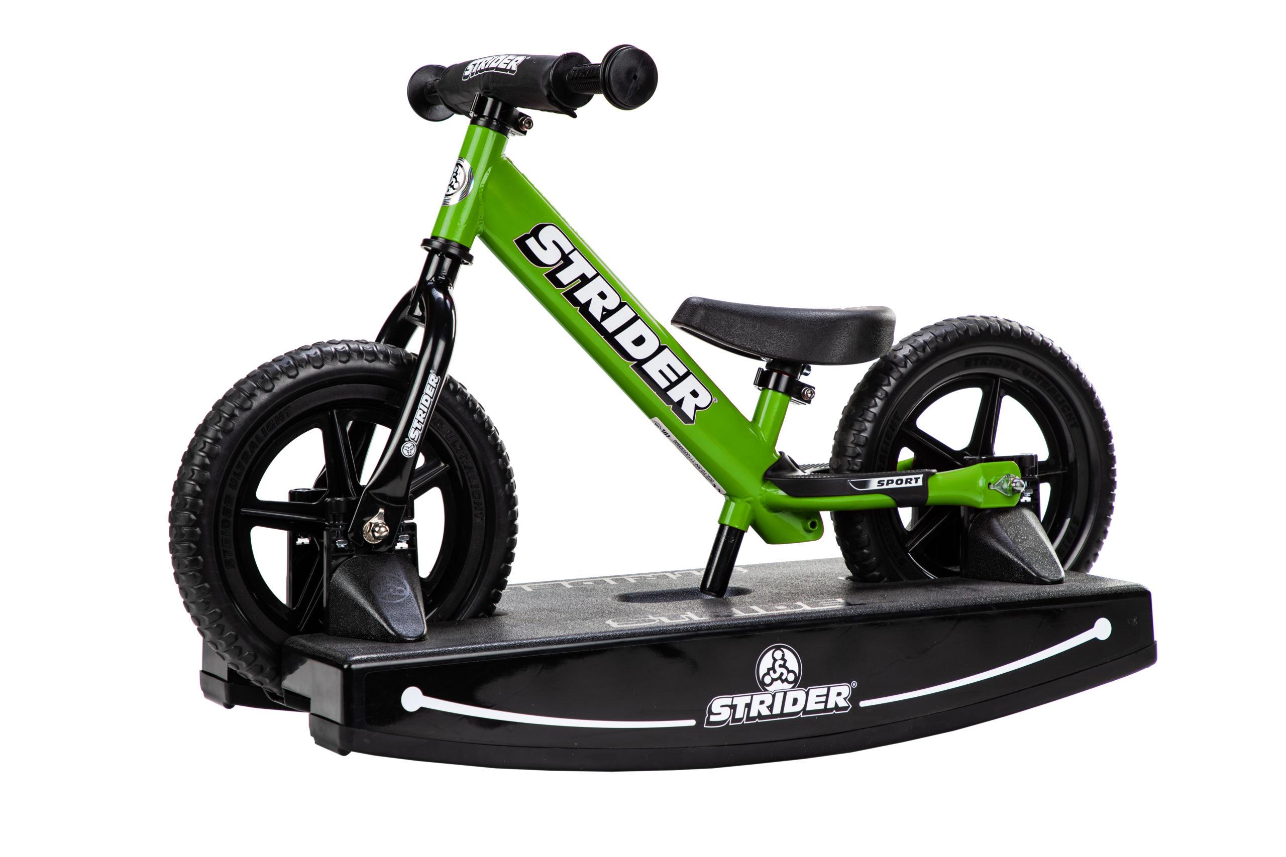 Studio Image of green 12 Sport 2-in-1 Rocking Bike