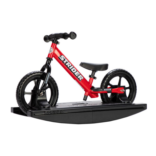 2-in-1 Rocking Bike Red Studio Image