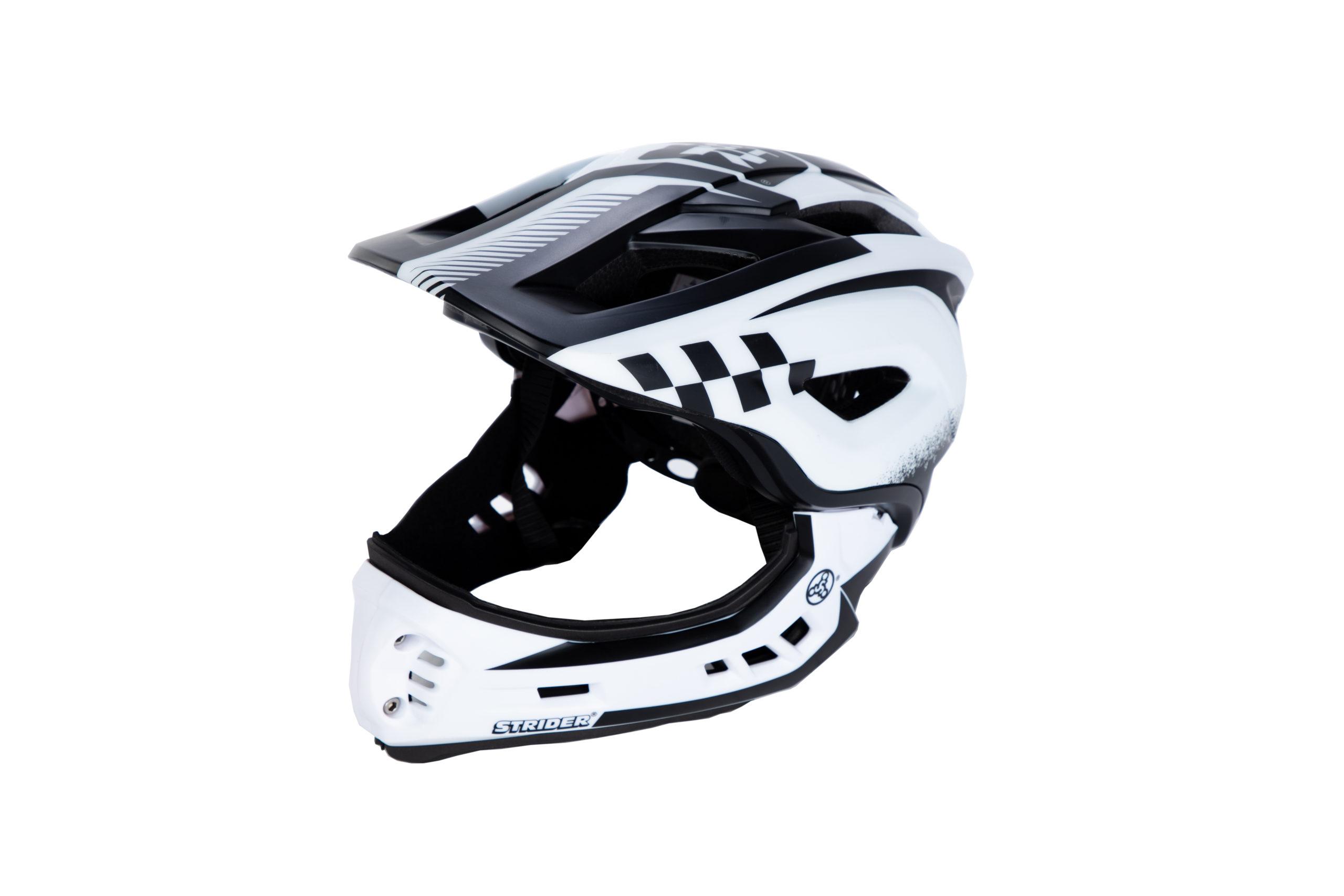 ST-R Full-Face Helmet in white