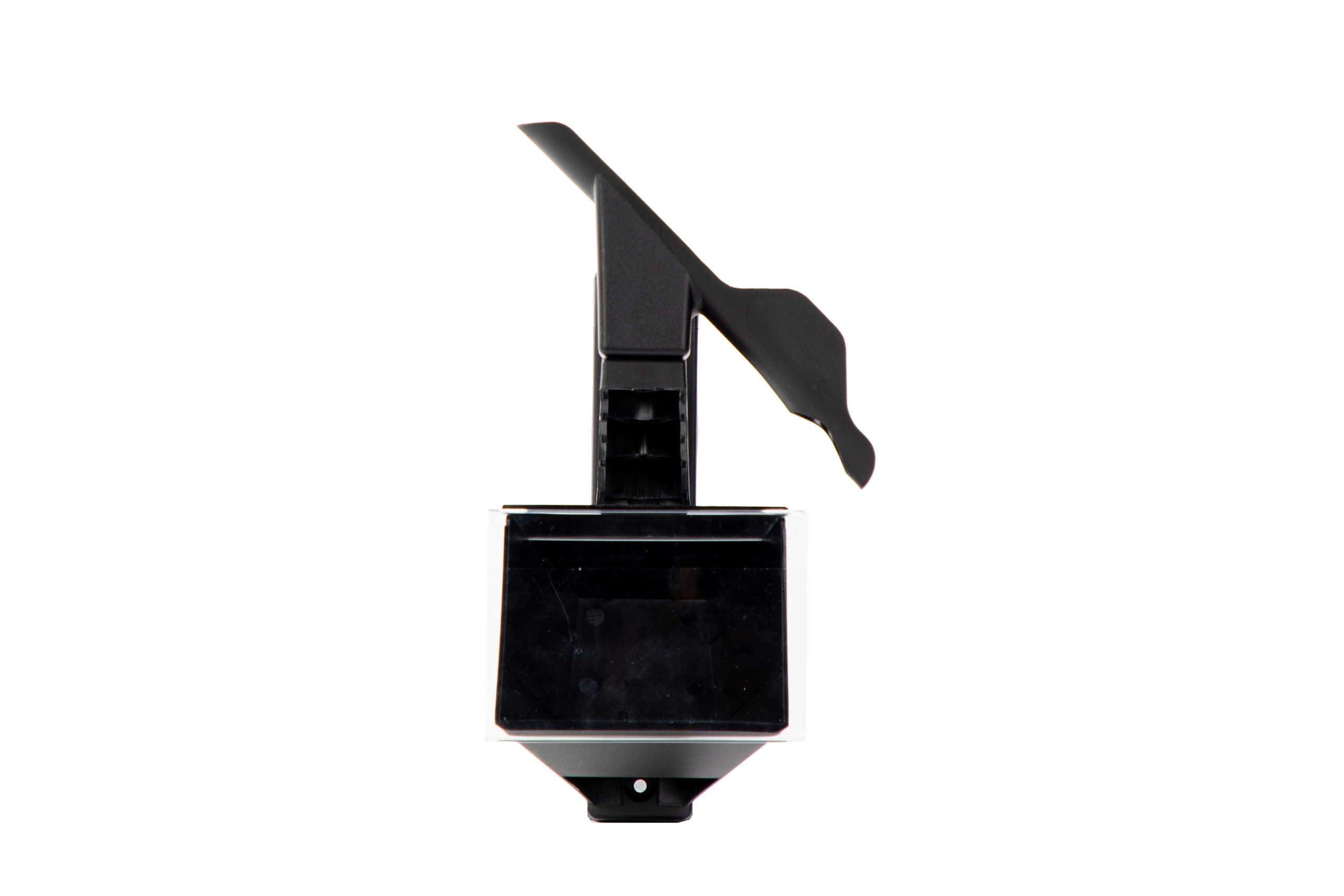 Studio image of memory mount - head-on front view