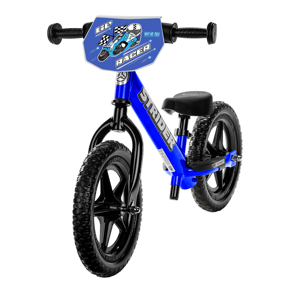 Studio Image of blue custom 12 Sport for Double Down Charity: Why We Ride