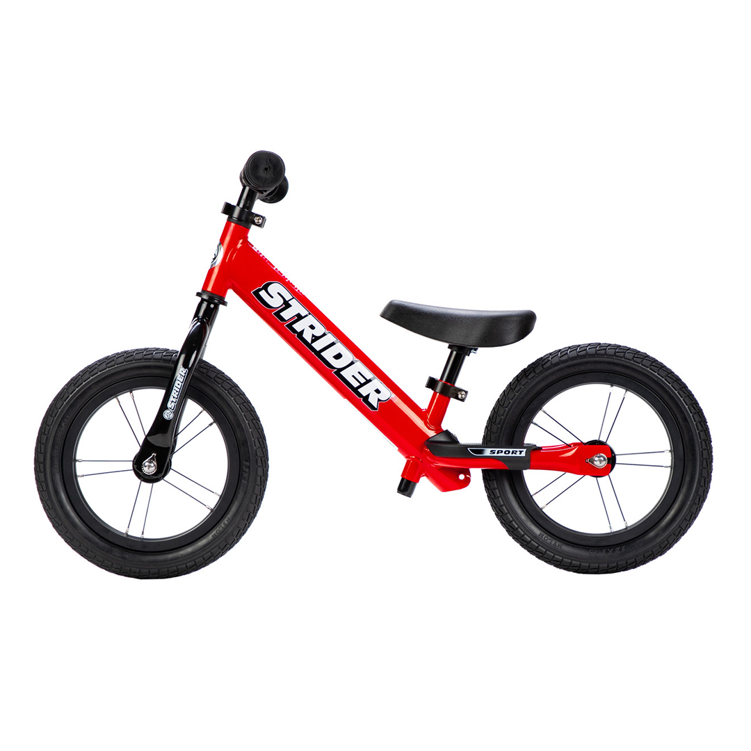 "Strider Bikes High Traction Wheelset on Red 12"" Sport"